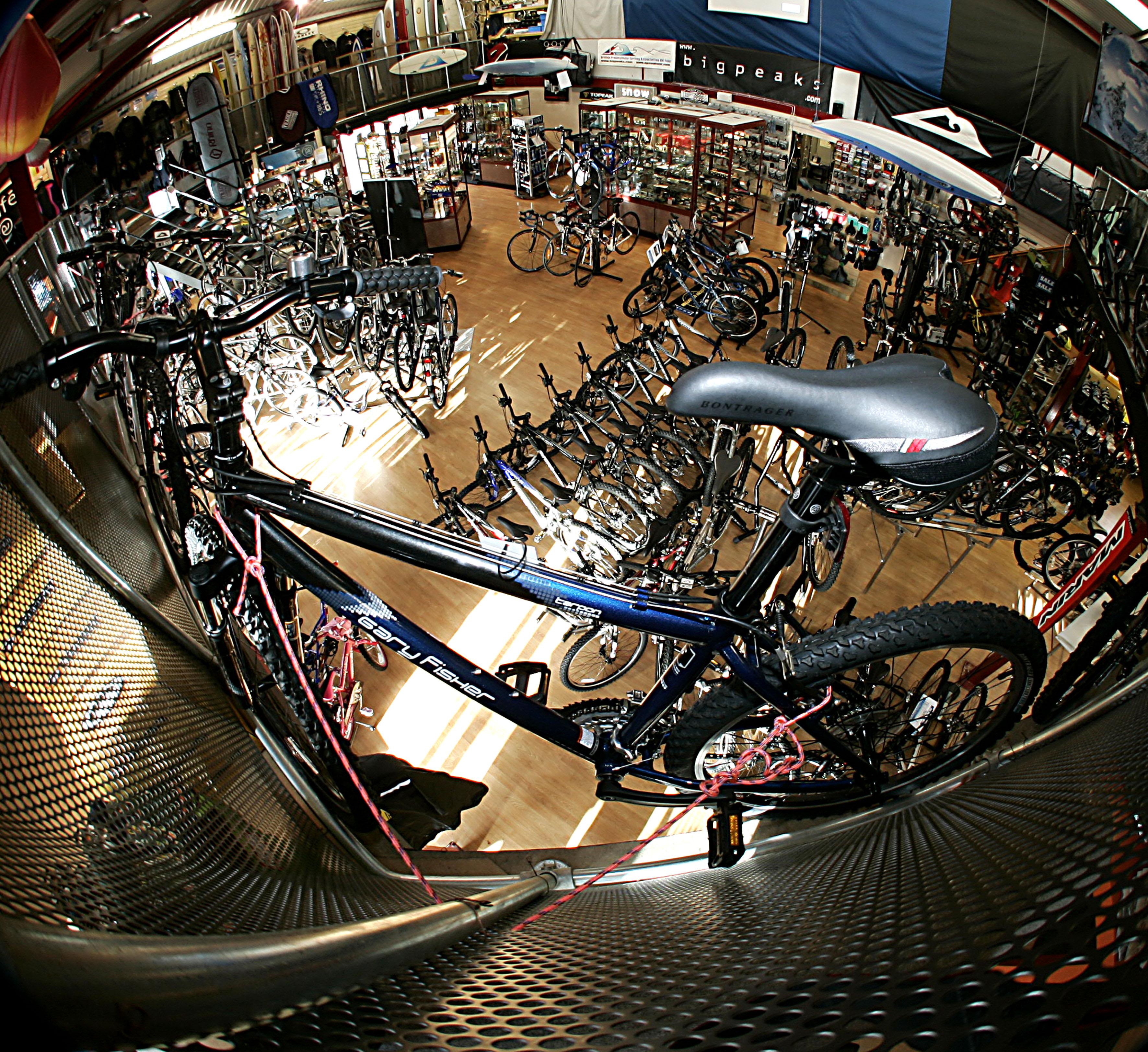 Bigpeaks Bikes Inside Store