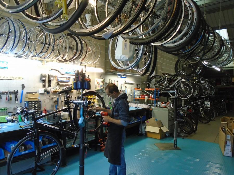 Bike Servicing at Bigpeaks.com in Ashburton, Devon