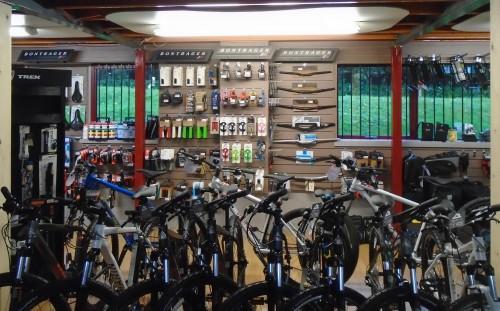 Bike Accessories at Bigpeaks Bike Shop in Ashburton, Devon