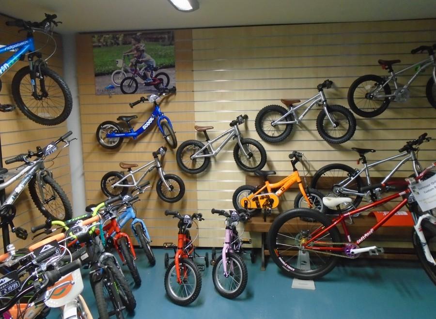 Kids Bikes at Bigpeaks.com in Ashburton, Devon
