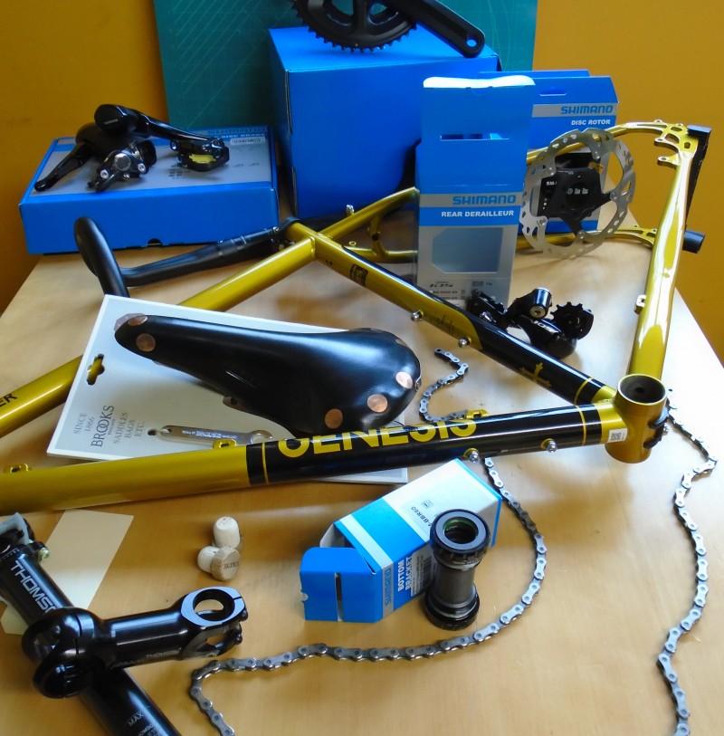 custom building bikes