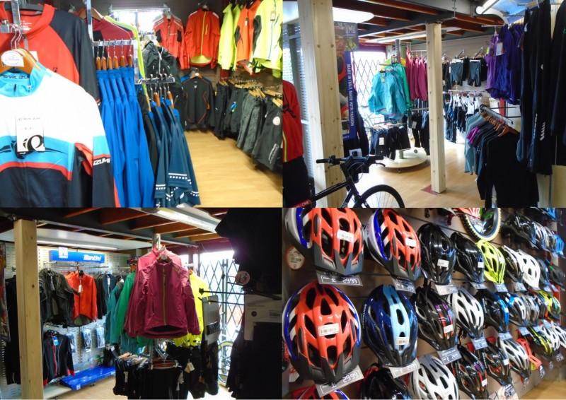Cycling clothing at Bigpeaks.com in Ashburton, Devon