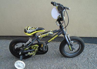 "Mongoose Moto Miaro, 12.5"" wheels"